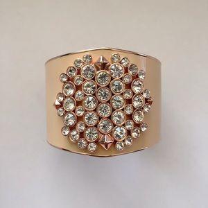 Vince Camuto | Rose Gold Diamond Cuff Bracelet